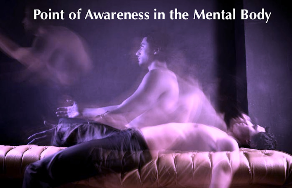 Point of Awareness in the Mental Body